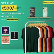 Online Shopping Of T Shirts and Phone Cover at Beyoung
